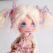 Куклы и игрушки ручной работы. Ярмарка Мастеров - ручная работа Снежинка. Текстильная кукла. Handmade.