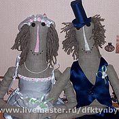 """Свадебный салон ручной работы. Ярмарка Мастеров - ручная работа """"Счастливая парочка"""". Handmade."""