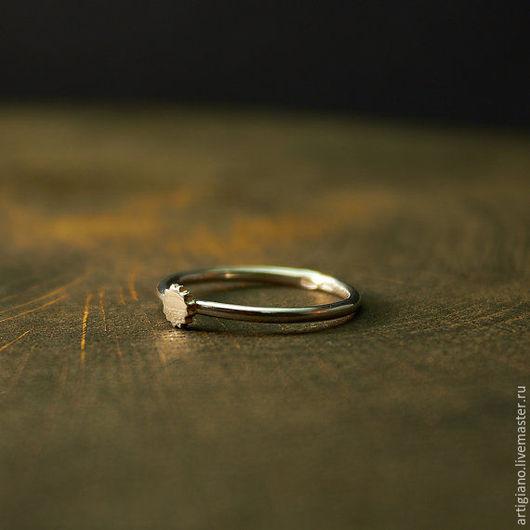 Кольца ручной работы. Ярмарка Мастеров - ручная работа. Купить Кольцо со звездочкой. Handmade. Серебряные украшения, кольцо на заказ