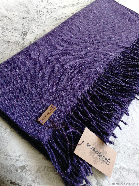 Woven scarf handmade from Italian yarn, Scarves, Rubtsovsk,  Фото №1