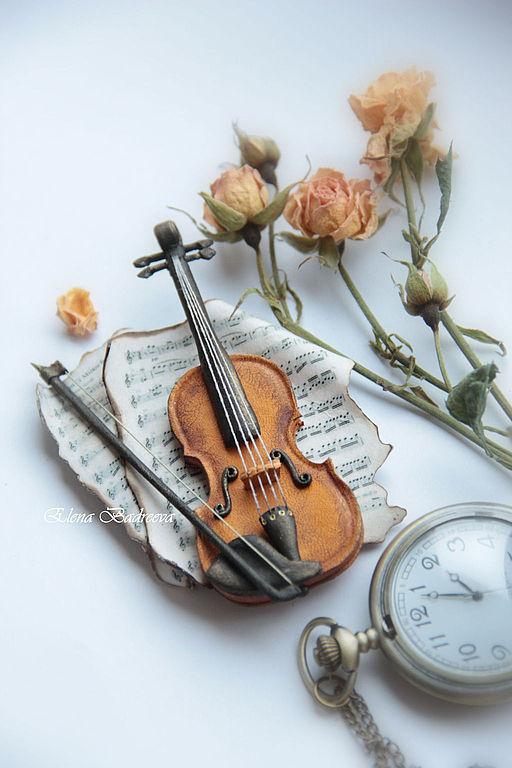 """Броши ручной работы. Ярмарка Мастеров - ручная работа. Купить Авторская брошь """"Вивальди """"Времена года. Лето."""". Handmade."""
