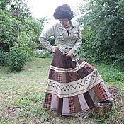 Одежда ручной работы. Ярмарка Мастеров - ручная работа Юбка-3. Handmade.