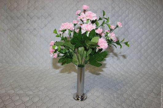 Материалы для флористики ручной работы. Ярмарка Мастеров - ручная работа. Купить Букет хризантемы бледно-розовой. Handmade. Искусственные цветы