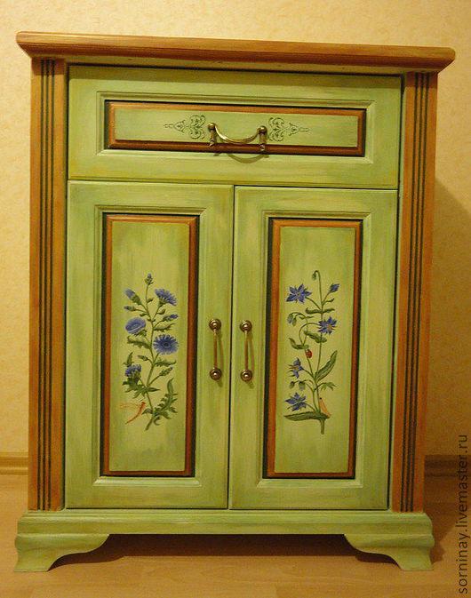 """Мебель ручной работы. Ярмарка Мастеров - ручная работа. Купить Комод """"Прованс"""". Handmade. Комод, подарок, зеленый, массив сосны"""