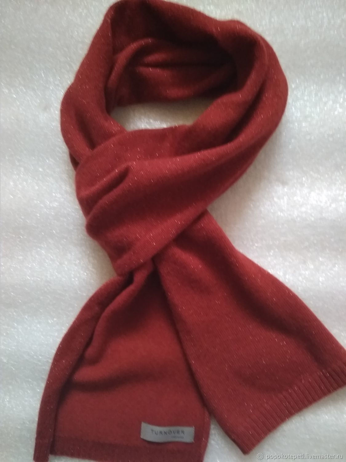 Vintage Clothing & Accessories. Livemaster - handmade. Buy Scarf with lurex, composition of blended fabric, vintage Germany.