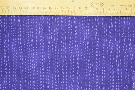 Шитье ручной работы. Ярмарка Мастеров - ручная работа. Купить Ткань для печворка фиолетовая. Handmade. Фиолетовый, ткань для творчества