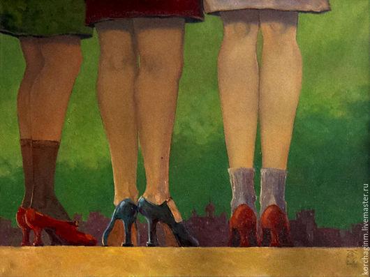 Город ручной работы. Ярмарка Мастеров - ручная работа. Купить Ноги. Handmade. Ноги, улица, Санкт-Петербург, вечер, Ленинград