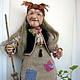 Doll Baba Yaga 5. Dolls. With smile. My Livemaster. Фото №4