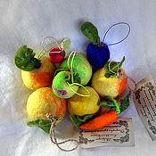 Подарки к праздникам ручной работы. Ярмарка Мастеров - ручная работа Ёлочные игрушки. Теплые и разные.. Handmade.