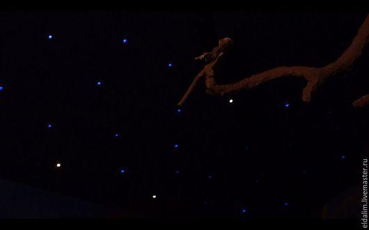 Освещение ручной работы. Ярмарка Мастеров - ручная работа. Купить Светильник-ночник «Звёздное небо». Handmade. Небо, потолочный светильник