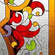 Для дома и интерьера ручной работы. Ярмарка Мастеров - ручная работа Лето ll. Интерьерный витраж Тиффани. Handmade.