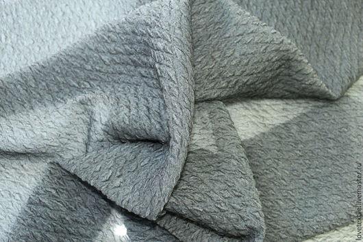 Шитье ручной работы. Ярмарка Мастеров - ручная работа. Купить HV119, Шелк HERMES. Handmade. Серый, шелковая блузка
