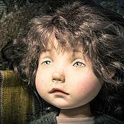 Куклы и игрушки ручной работы. Ярмарка Мастеров - ручная работа Коротышка Зеленые штанишки. Handmade.