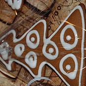 Сувениры и подарки ручной работы. Ярмарка Мастеров - ручная работа пряники монохромные. Handmade.