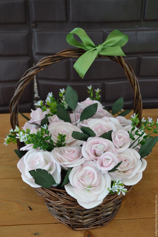 Тюльпаны цветы, заказы корзины с цветами из фома