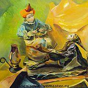 Картины и панно ручной работы. Ярмарка Мастеров - ручная работа Натюрморт с куклами. Handmade.