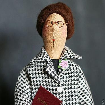 Куклы и игрушки ручной работы. Ярмарка Мастеров - ручная работа Тильда Учительница. Handmade.