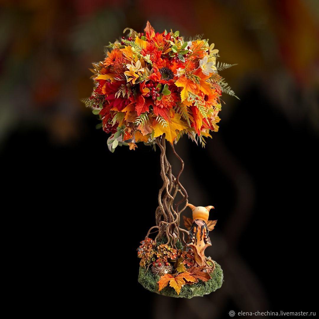 Осенняя сказка, Топиарии, Новосибирск,  Фото №1
