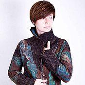 Одежда handmade. Livemaster - original item Jacket felted