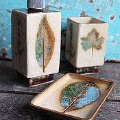 Для дома и интерьера ручной работы. Ярмарка Мастеров - ручная работа Комплект для ванной. Handmade.