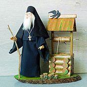 Куклы и игрушки handmade. Livemaster - original item PILGRIM dolls gift priest. Handmade.