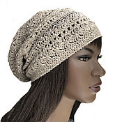 Аксессуары handmade. Livemaster - original item Summer openwork hat for women Boho. Handmade.
