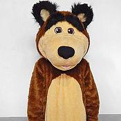 Дизайн и реклама handmade. Livemaster - original item The Bear. Life-size puppet. Handmade.