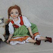Куклы и игрушки ручной работы. Ярмарка Мастеров - ручная работа Варенька ( Стешина сестричка). Handmade.