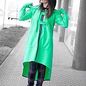 Одежда handmade. Livemaster - original item Asymmetric hooded coat-VE0455CA. Handmade.