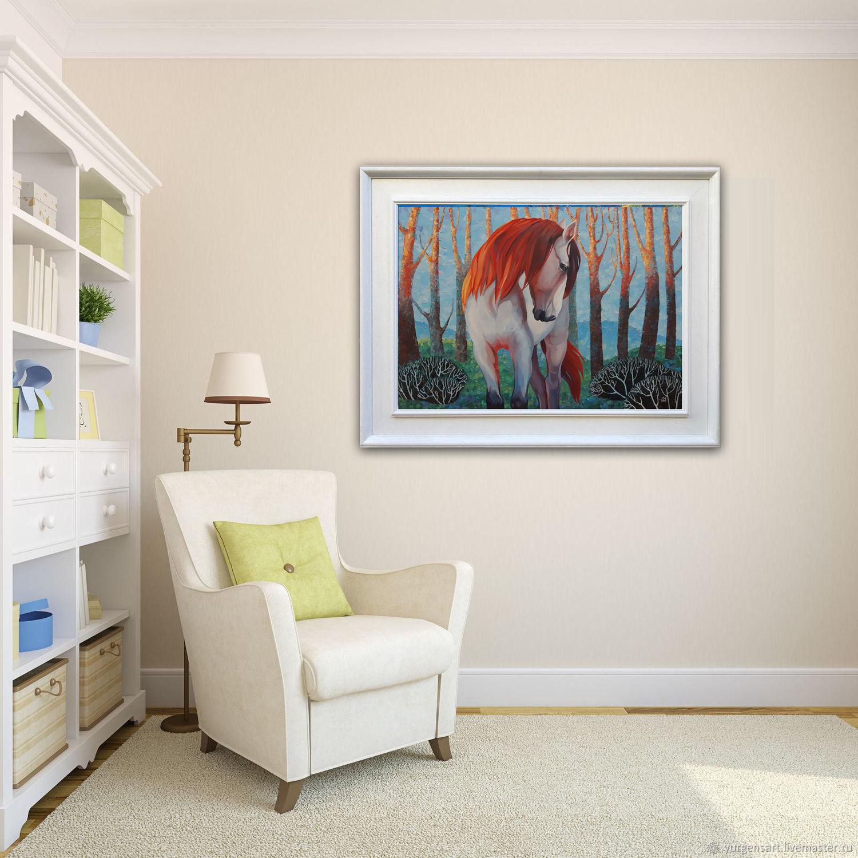 Картина с лошадью Яркий мир