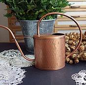 Винтаж handmade. Livemaster - original item old copper watering can. Handmade.