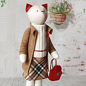 """Куклы и игрушки ручной работы. Ярмарка Мастеров - ручная работа Кошка """"Do you speak English?"""". Handmade."""