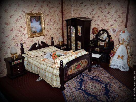 Кукольный дом ручной работы. Ярмарка Мастеров - ручная работа. Купить Кукольный мир. Handmade. Кукольная, кукольный дом, кукла