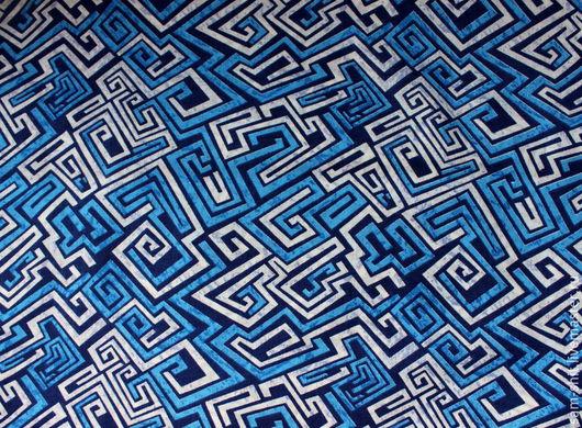 Шитье ручной работы. Ярмарка Мастеров - ручная работа. Купить Ткань для рукоделия 50х40 см. Handmade. Тёмно-синий