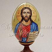 """Картины и панно ручной работы. Ярмарка Мастеров - ручная работа Яйцо расписное """"Иисус Христос"""". Handmade."""