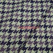 Ткань кост-пальтовая пье-де-пуль , 150 см, фиолетовый