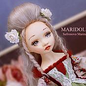 Куклы и пупсы ручной работы. Ярмарка Мастеров - ручная работа Шарлотта подвижная кукла. Handmade.