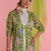 """Одежда ручной работы. Ярмарка Мастеров - ручная работа Кардиган """"Цветочная поляна"""". Handmade."""