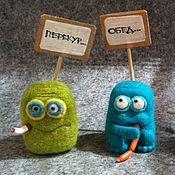 Куклы и игрушки handmade. Livemaster - original item smiley, emoticon on you desktop. Handmade.