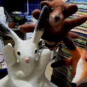 Куклы и игрушки ручной работы. Ярмарка Мастеров - ручная работа игрушка на руку. вспомним детство - устроим детям театр!. Handmade.