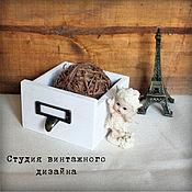 Для дома и интерьера ручной работы. Ярмарка Мастеров - ручная работа Ящик, короб, кашпо деревянный. Handmade.
