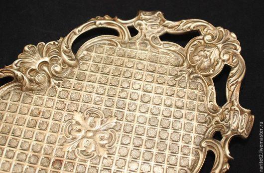 Винтажная посуда. Ярмарка Мастеров - ручная работа. Купить Поднос блюдо ваза чаша бронза Франция 19в 11. Handmade.