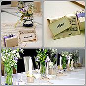 Свадебный салон ручной работы. Ярмарка Мастеров - ручная работа Music - банкетные карточки. Handmade.