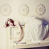 """Свадебный салон ручной работы. Ярмарка Мастеров - ручная работа """"Принцесса"""" в стиле Хиппи. Handmade."""