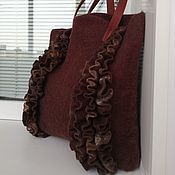 Сумки и аксессуары handmade. Livemaster - original item The Chocolate Truffle Shopping Bag. Handmade.