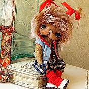 Куклы и игрушки ручной работы. Ярмарка Мастеров - ручная работа Мишка-девочка Лори. Handmade.