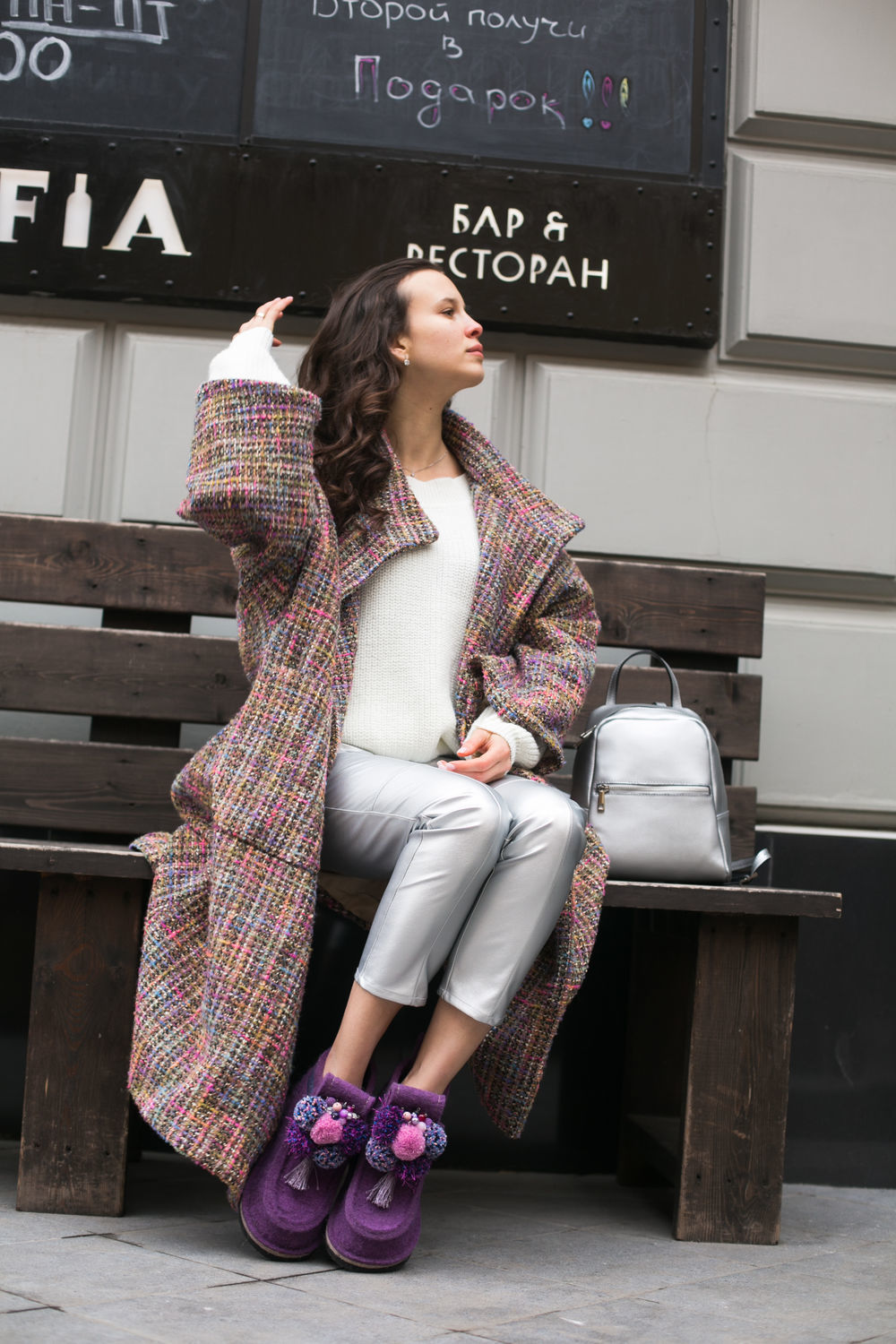 Boots women's 'LILAC DREAM' for the street, Valeshis, Moscow,  Фото №1