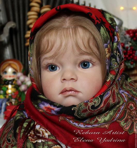 Куклы-младенцы и reborn ручной работы. Ярмарка Мастеров - ручная работа. Купить Танюша. Кукла реборн. Handmade. Ярко-красный
