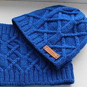 Одежда ручной работы. Ярмарка Мастеров - ручная работа детская шапка+снуд. Handmade.