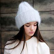 Аксессуары handmade. Livemaster - original item Knitted hat Fuzzy. Handmade.
